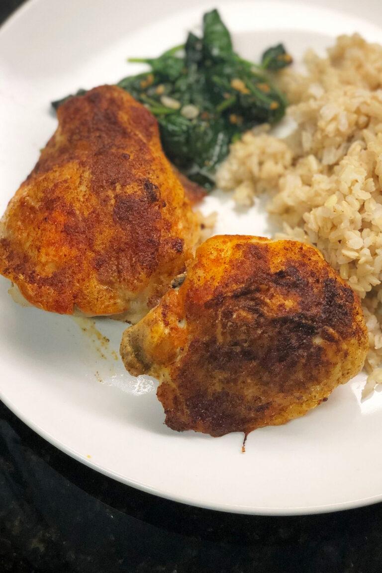 Ninja Foodi Frozen Chicken Thighs